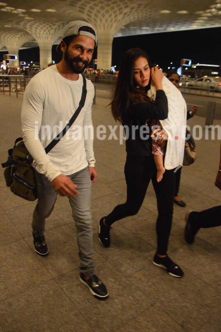 shahid kapoor, shahid kapoor family photo, misha kapoor, shahid kapoor daughter, misha birthday,