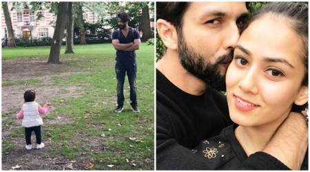 Photos: Shahid Kapoor is spending some quality time with the ladies in his life, Misha and Mira