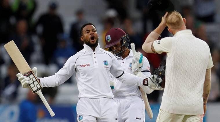 shai hope, stuart law, england vs west indies, england vs west indies 3rd test, cricket news, sports news, indian express