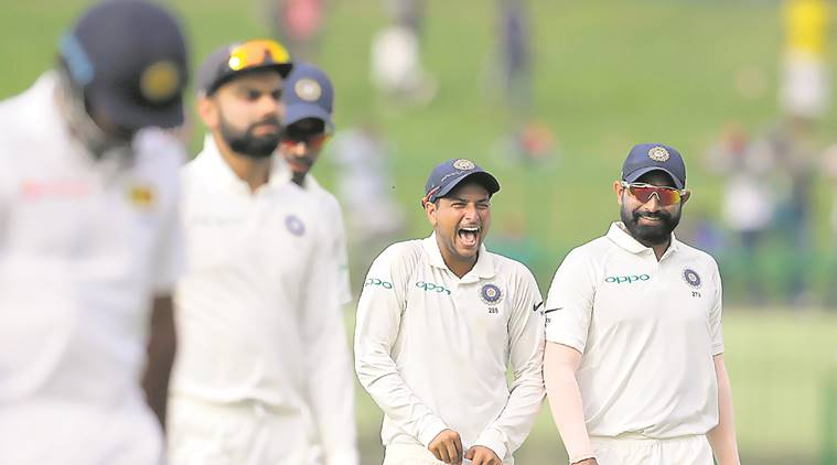 Mohammed Shami, Ranji match, india vs sri lanka, Upul Tharanga, Dimuth Karunaratne, indian express, sports news, cricket