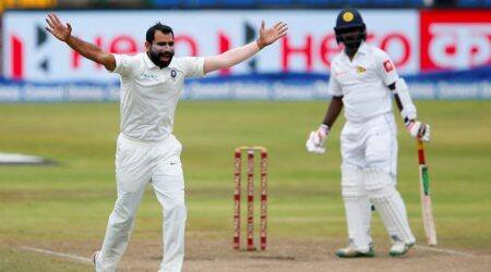 India vs Sri Lanka: Mohammed Shami is among the world's top three fast bowlers, says Virat Kohli
