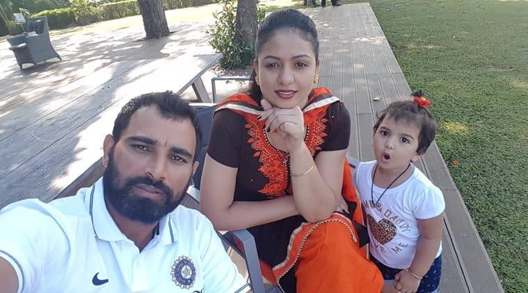 mohammed shami, mohammed shami family, mohammed shami india, india vs sri lanka, cricket news, sports news, indian express