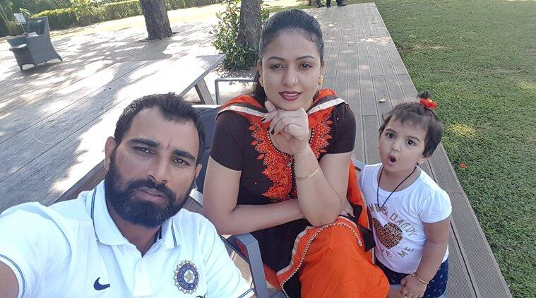 mohammed shami, mohammed shami family, mohammed shami india, india vs sri lanka, cricket news, sports news, indian express