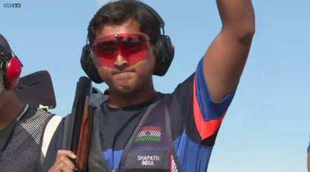 shapath bharadwaj, shapath bharadwaj shooter, Junior Shotgun World Cup