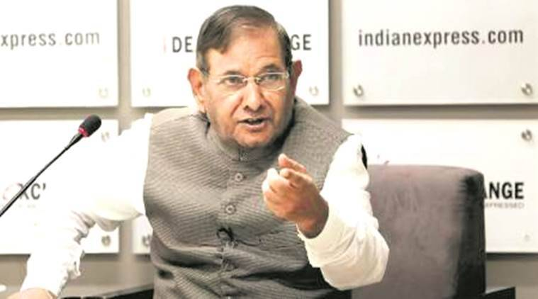 Nitish Kumar faction removes Sharad Yadav as party head in Rajya Sabha