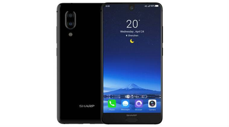 Sharp Aquos S2, Sharp Aquos S2 bezel-less, Sharp bezel-less smartphone, Sharp Aquos S2 China
