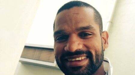 Shikhar Dhawan, Shikhar Dhawan India, India vs Sri lanka, sports news, cricket, Indian Express