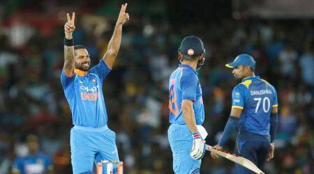 Shikhar Dhawan, Virat Kohli power India to nine-wicket win over Sri Lanka in 1st ODI