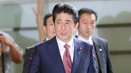 Japan's PM Shinzo Abe says agreed with Donald Trump that halting North Korean missile launches was priority