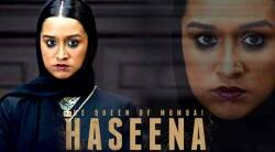 Shraddha Kapoor, Haseena Parkar, Shraddha Kapoor upcoming movie, Haseena release date, Shraddha Kapoor entertainment news