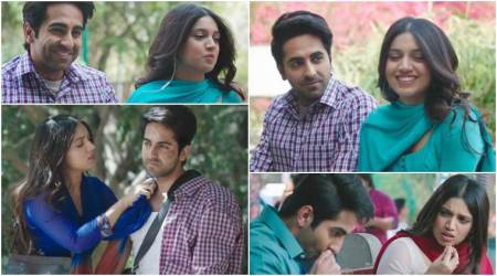 Shubh Mangal Savdhaan song Kanha: Ayushmann Khurrana and Bhumi Pednekar's song is all about romance wrapped inhumour