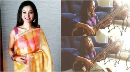 Shweta Basu Prasad's sitar rendition of the National Anthem is making this Independence Day special. Watch video