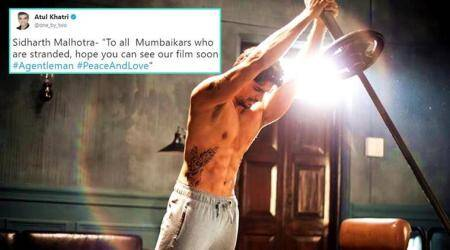 Sidharth Malhotra gets trolled for 'A Gentleman' tweet again, but this time it's for Mumbai rains