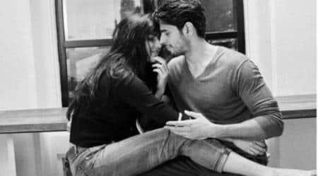 Katrina Kaif, Sidharth Malhotra, katrina, sidharth, A Gentleman, Sidharth Malhotra A Gentleman, A Gentleman song Chandralekha,