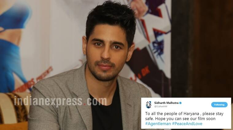 A Gentleman actor Sidharth Malhotra in trouble for insensitive tweet