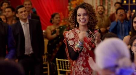 Simran song Lagdi Hai Thaai: Kangana Ranaut is living life on the edge in this wedding song of the year. Watch video