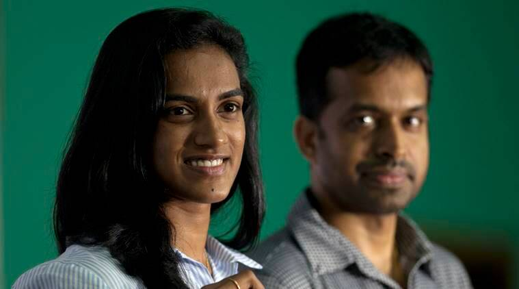 pv sindhu, p gopichand, world badminton championships, badminton, glasgow, saina nehwal, sports news, indian express