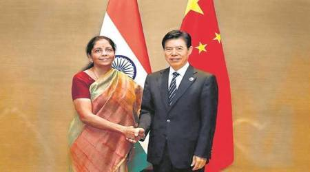 Nirmala Sitharaman talks trade deficit with Chinese counterpart