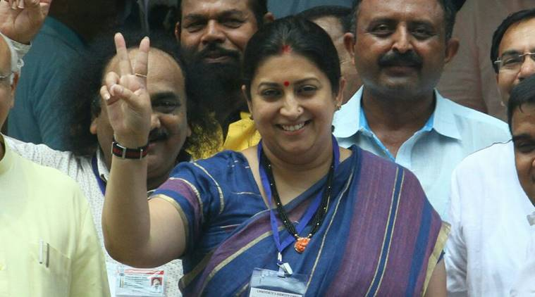 Smriti Irani, Sonia Gandhi, Quit India Movement, Quit India Movement Anniversary, Indian Express