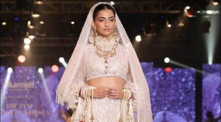 Sonam Kapoor makes for a beautiful and fashionable bride in this magazine photo shoot, see pics