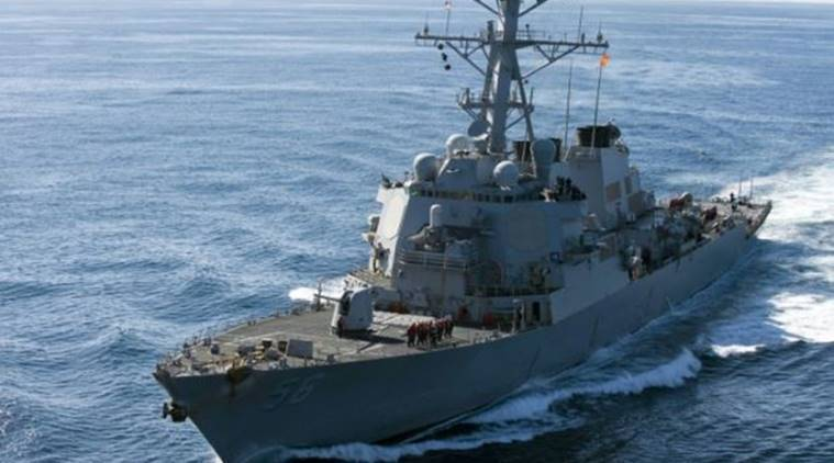South China sea, US destroyer in South China Sea, South China sea news, Latest news, World news, latest news, International news,