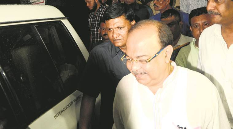 Fire Minister and Kolkata Mayor Sovan Chatterjee, Enforcement Directorate, Narada sting probe, Sovan Chatterjee, West Bengal, Indian Express news