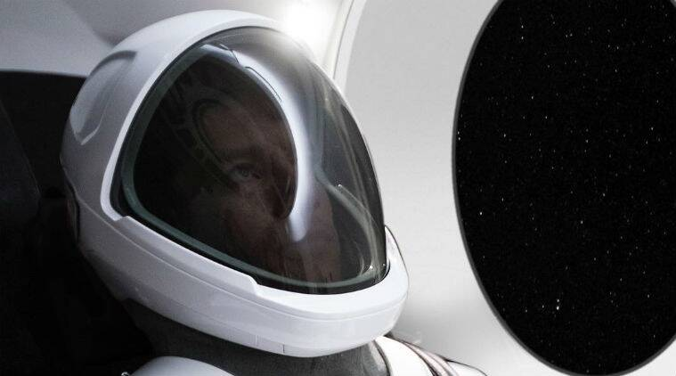Elon Musk just revealed the first photo of the SpaceX space suit