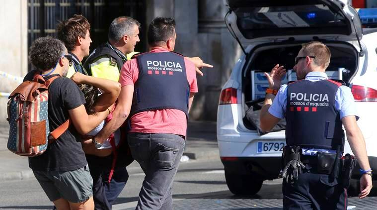 donald trump, barcelona attacl, barcelona van attack, barcelona Islamic state attack, IS attack, barcelona attack death toll, indian express, world news