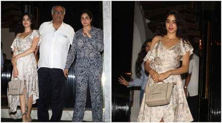 Sridevi marks her 54th birthday amid family, as her daughters Jhanvi and Khushi emerge stars again. See photos