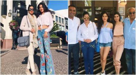 Sridevi goes on a lunch date with family, we can't take our eyes off Jhanvi Kapoor