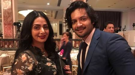 Victoria and Abdul actor Ali Fazal has fanboy moments with Sridevi and Dustin Hoffman