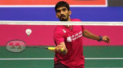 Srikanth stuns World No. 1 Axelsen in three games