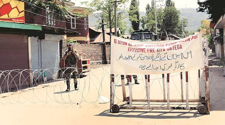 kashmir encounter, militants killed, Lashkar militants, sopore encounter, kashmir news, indian express news