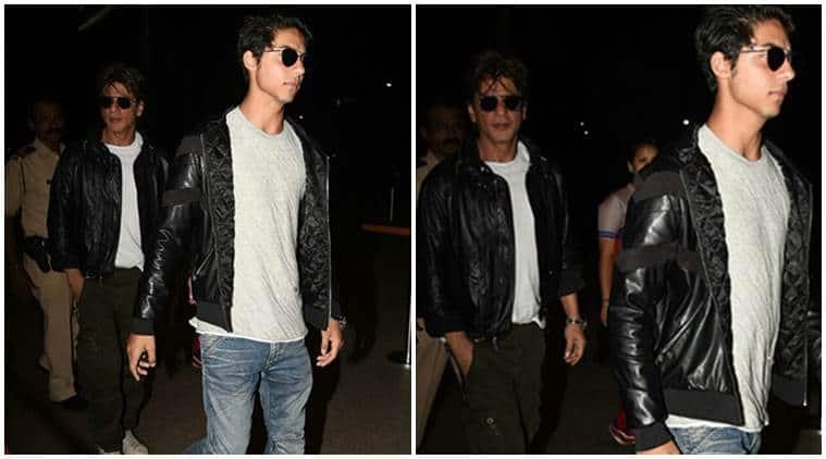 Shah Rukh Khan, Aryan Khan, Aryan Khan photos, Aryan Khan shah rukh khan, Aryan Khan SRK, Aryan Khan SRK twinning