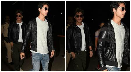 Photos: Shah Rukh Khan, son Aryan Khan are twinning, and we are stunned at their resemblance