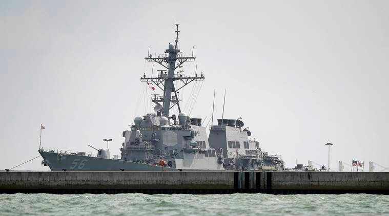 Singapore-led rescue effort expands search for missing US Navy sailors
