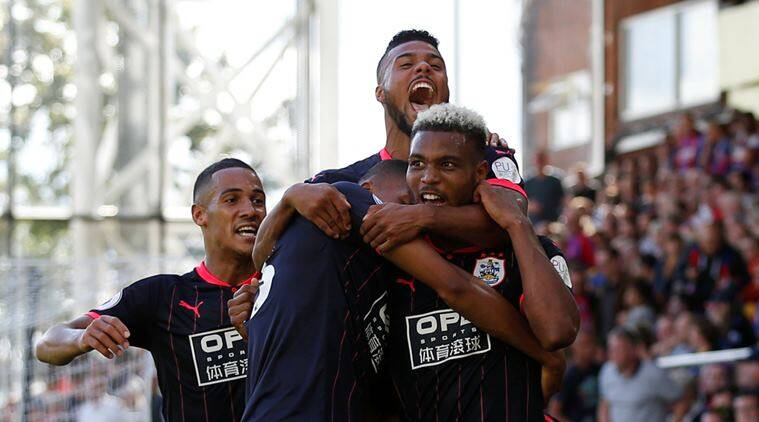 Steve Mounie, Huddersfield vs Crystal Palace, English Premier League, EPL Results, Sports