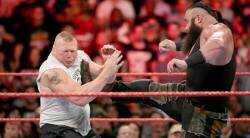 wwe summerslam, wwe raw, brock lesnar, braun strowman, lesnar vs strowman, wwe no mercy, sports news, wwe news, wwe videos, sports news, indian express