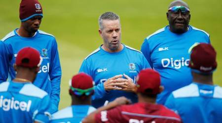 west indies vs england, eng vs wi, day night test, stuart law, test tour, cricket, sports news, indian express