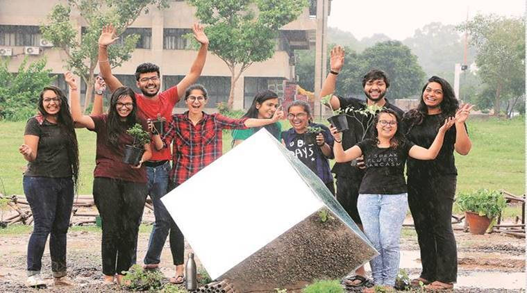 Chandigarh College of Architecture , National Association of Students of Architecture, neglected places in Chandigarh, Chandigarh city news, Punjab News, Indian Express news