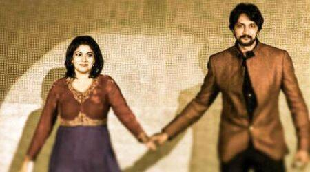 Kannada actor Kichcha Sudeep reunites with wife Priya, withdraws divorce petition