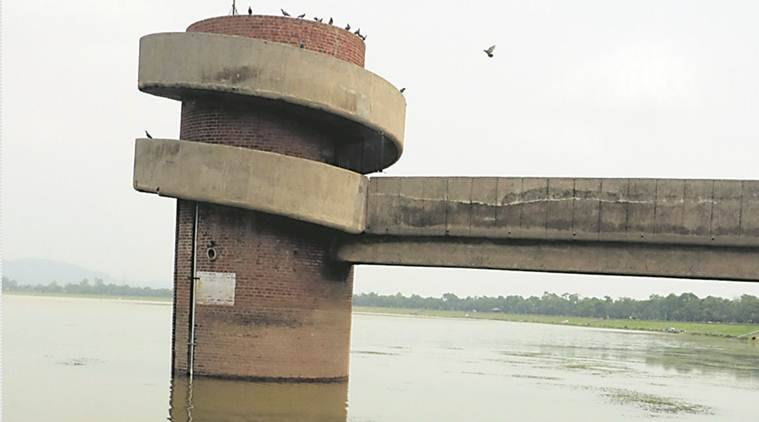 Sukhna Lake, Sukhna Lake Chandigarh, Chandigarh rain,  Sukhna Lake water level, Punjab and Haryana High Court, Chandigarh News, Indian Express News