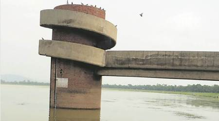 Rain pushes up Sukhna water level