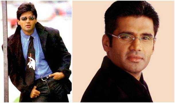 suniel shetty, suniel shetty pics, suniel shetty old pics, suniel shetty throwback pics, suniel shetty photos