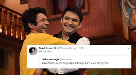 This is what Sunil Grover has to say about long-lost friend Kapil Sharma's Firangi