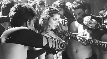 Sunny Leone's sizzling first look from Bhoomi dance number Trippy Trippy will blow yourmind