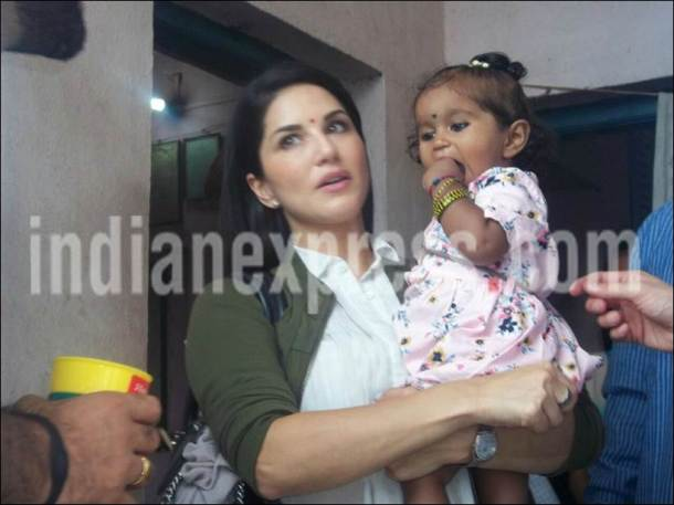 sunny leone adopted daughter, sunny leone adoption, sunny leone new parent, sunny leone hot photos