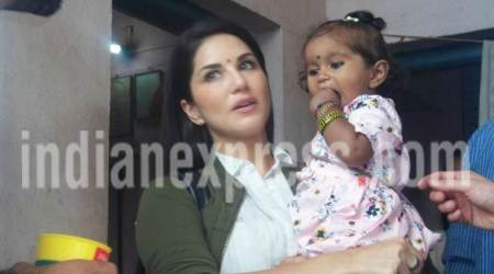 Sunny Leone is making memories for daughter Nisha, and it's the cutest thing you will see today