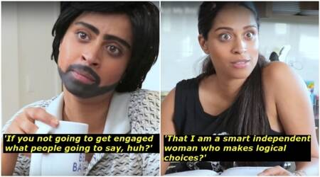superwoman, lilly singh, superwoman lilly singh, superwoman on indian parents and dating, superwoman on indian parents and dating, indian express, indian express news