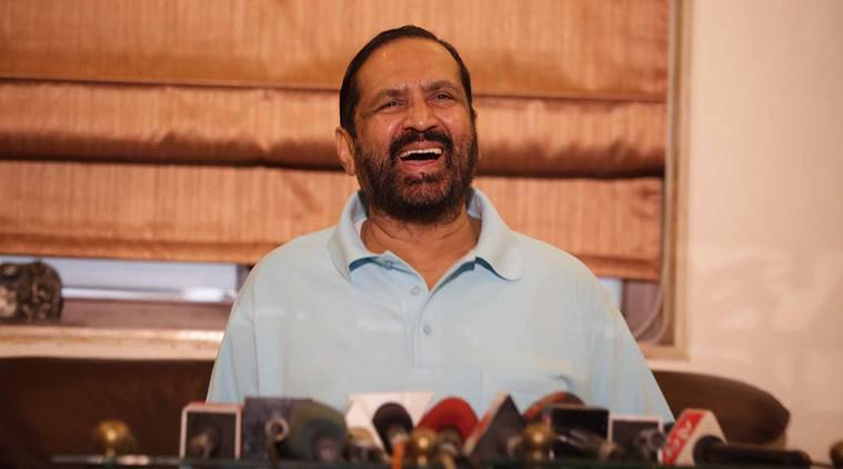 suresh kalmadi, congress leader, lok sabha elections, lok sabha election campaign, lok sabha poll seats, lok sabh polls 2019, suspunsion of suresh kalmadi, maharashtra congress, indian express